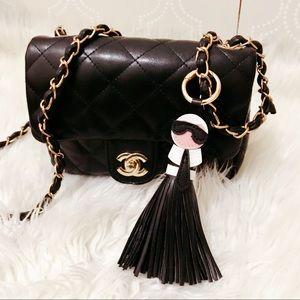 (2 for $20) Karl Lagerfeld Keychain/Handbag Charm